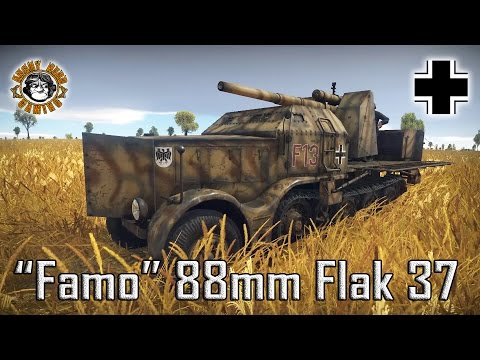 War Thunder: 8.8cm Flak 37 Sfl., German, Tier-2 Tank Destroyer