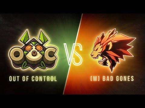 #DWS - Journée 4 : BAD GONES vs. OUT OF CONTROL