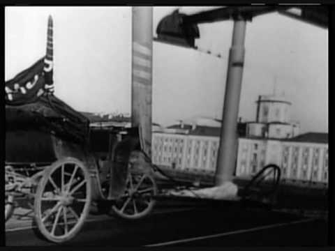 """""""October"""" by Eisenstein Horse Scene"""