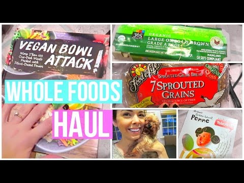 Whole Foods Grocery Haul!