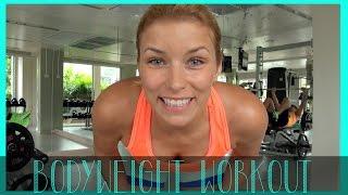 kurzes WORKOUT ohne Equipment - Bodyweight - Freeletics Style