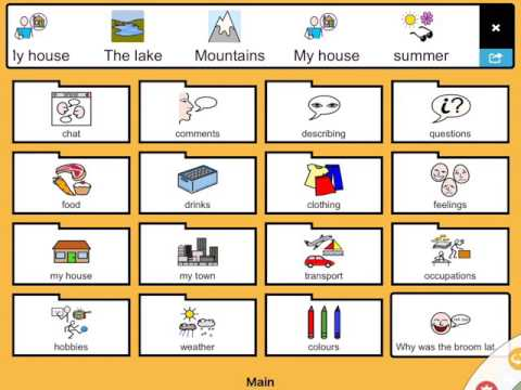 ChatAble Is A Symbol And Scene Based Communication (AAC) App.