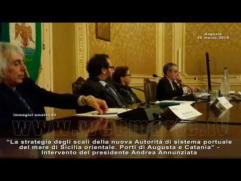 Augusta - Futuro del porto roseo: lo ha detto Annunziata in un convegno del Rotary