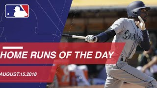 Home Runs of the Day: 8/15/18