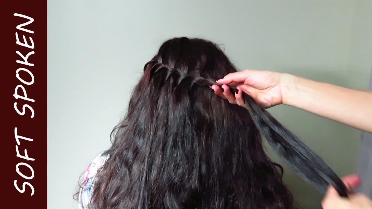 Relaxing hair play and brush soft spoken ASMR