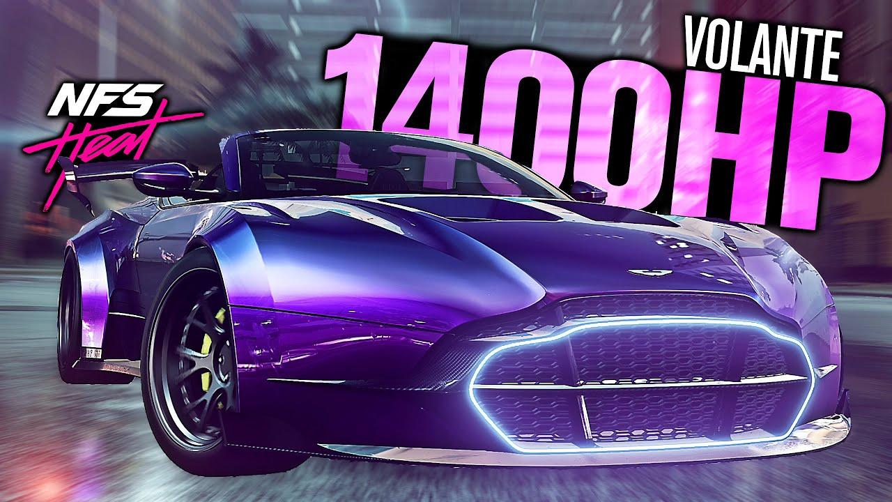Need For Speed Heat Full Aston Martin Db11 Volante 1400hp Customization Black Market Dlc Youtube
