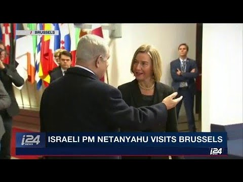 Netanyahu is in Brussels meeting with EU foreign ministers