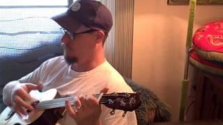 Brain Cloudy Blues - Re-do on Baritone Ukulele