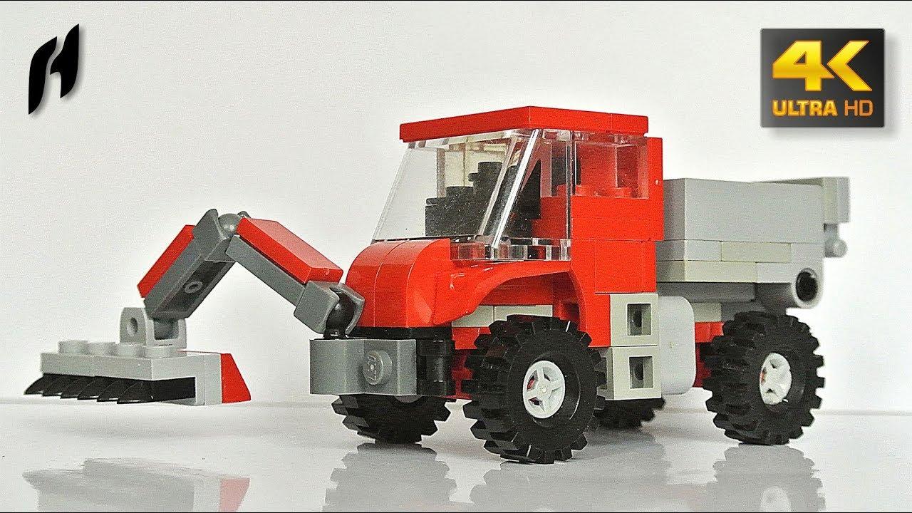 Lego Mercedes Benz Unimog With Front Mower Moc Youtube