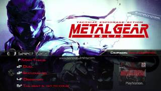 Banda Sonora: Metal Gear Solid (OST - PSX) | Top 5 | #GameSongWeek