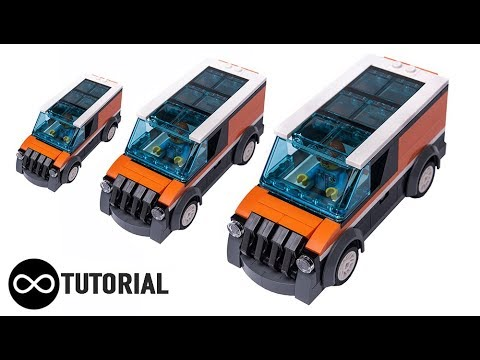 How to build LEGO City Electric car MOC