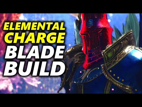 ELEMENTAL CHARGE BLADE Build ? The KJÁRR Element | Monster Hunter World thumbnail