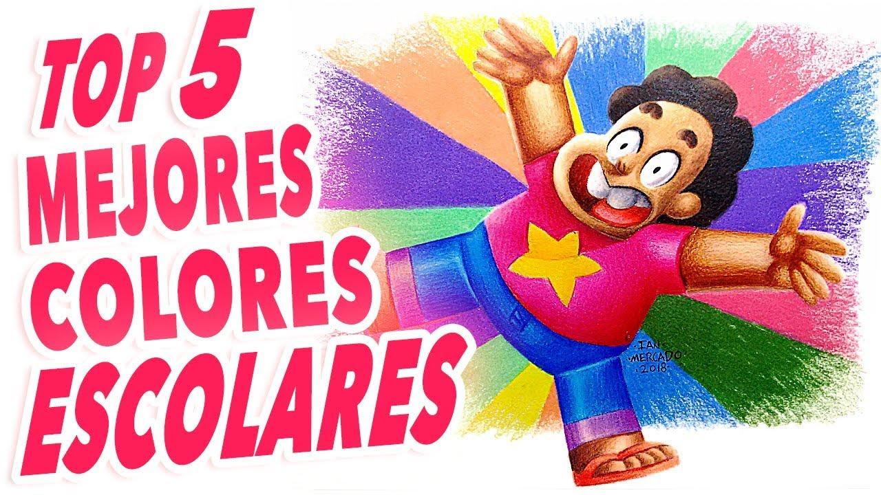 Top 5 Mejores Lápices De Colores Escolares Para Colorear Mezclar Y Dibujar