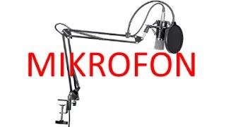 mein neues mikrofon   neewer nw 700   german deutsch