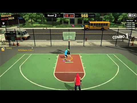 Freestyle 2 Street BasketBall: Rebound Challenge!