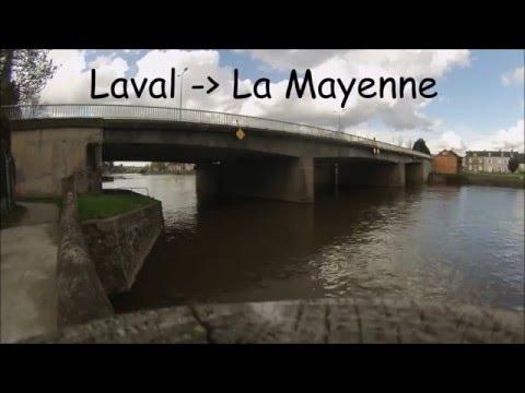 Time lapse ( GOPRO ) LAVAL La Mayenne