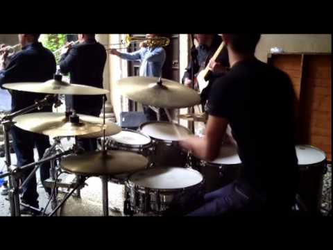 Giulio Faedo drum cam - Tribute to Frank Zappa