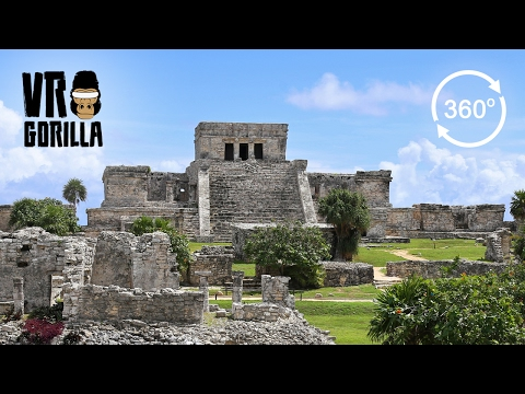 Cancun and Maya Temples in Mexico Guided Tour (360 VR Video)