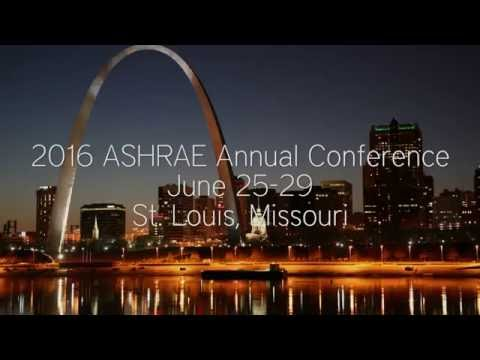 2016 ASHRAE Annual Conference in St. Louis