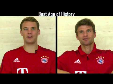 Manuel Neuer & Thomas Muller Speaking English