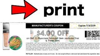 🔥  🔥  🔥  PHYSICIANS formula $4 printable!!!