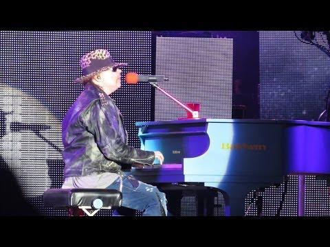 Guns N' Roses - Sweet Child O' Mine / November Rain - Florianópolis - 2014 - HD