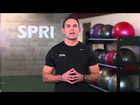 SPRI Braided Xertube: Upright Row Exercise