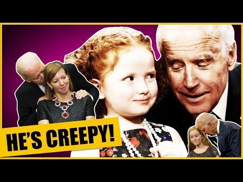 Creepy Uncle Joe Biden Denies Being Creepy