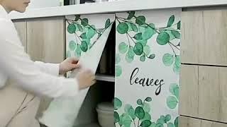 주방 베란다 창문 냉장고 선반 수납장 책장 가리개