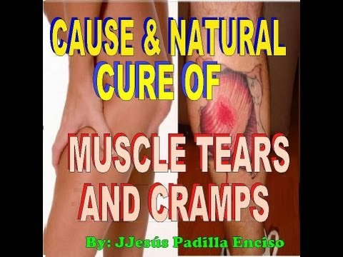 THE CAUSE OF MUSCLE TEARS & CRAMPS.IS DISCOVERED