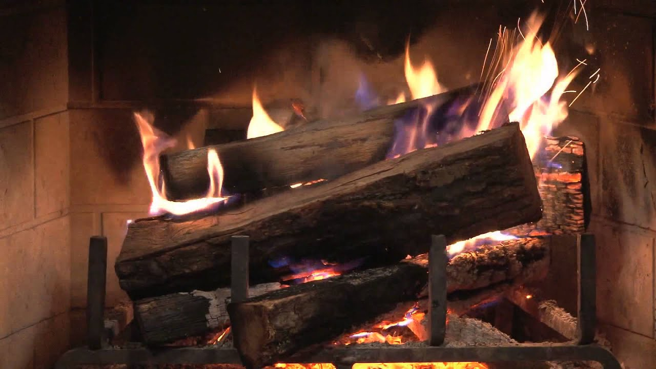 the best hd fireplace 2 hours relaxing close to the warm fire
