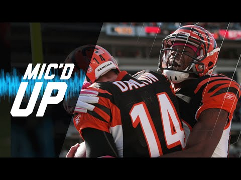 A.J. Green & Andy Dalton Rookie Year Mic'd Up | #MicdUpMondays | NFL