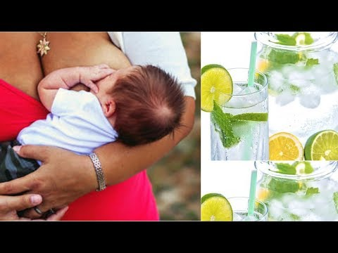 CAN A NURSING MOTHER TAKE LEMONS/LEMON WATER? FIND OUT THE T