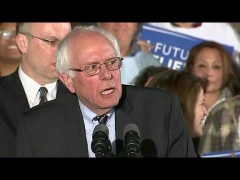 Bernie Sanders declares victory in New Hampshire primary