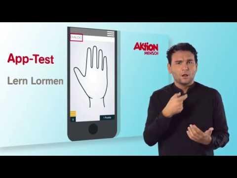 Barrieren überwinden – Apps im Test: Lern Lormen (Deutsche Gebärdensprache)