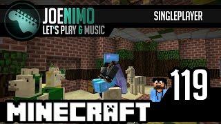 Minecraft Single LP | #119 Další práce na Aztéckém projektu | CZ HD