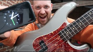 The ULTIMATE timing test for bass players... will you PASS or FAIL?