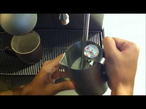 McDonald's McCafe   How to make cappuccino