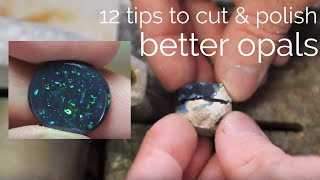 How to cut a gemstones