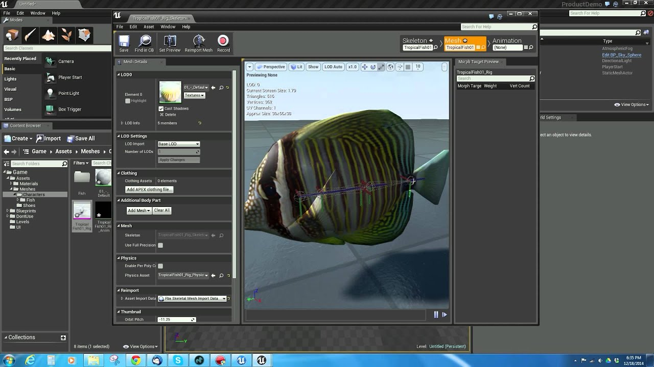 animation unreal engine 4