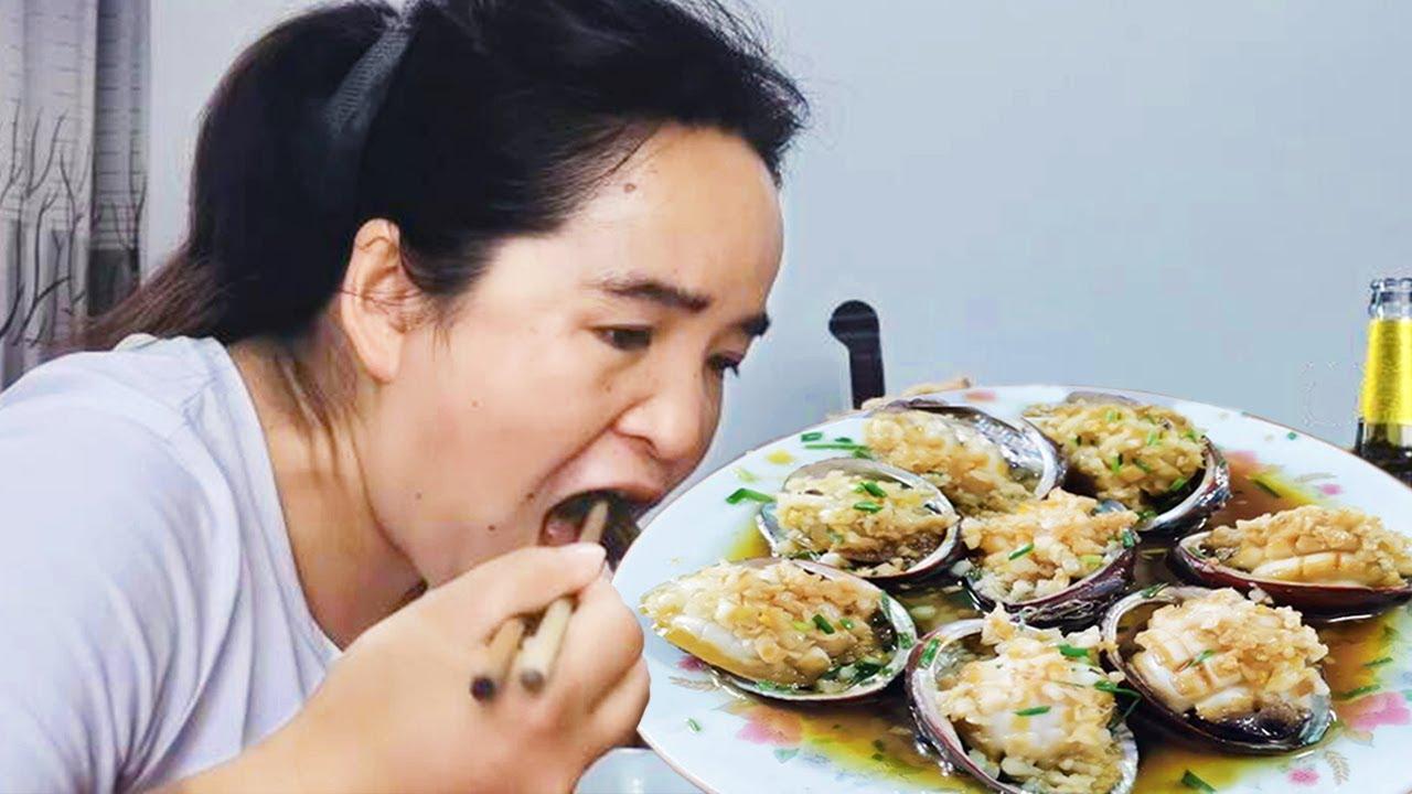 苗大姐游江南,吃上叔叔做的小海鲜,啤酒喝到肚子胀【苗阿朵美食】