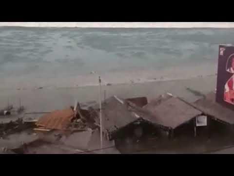 Palu Earthquake Tsunami, detik2 terjadi gempa dan tsunami di Palu, Sulteng.. 28 September 2018