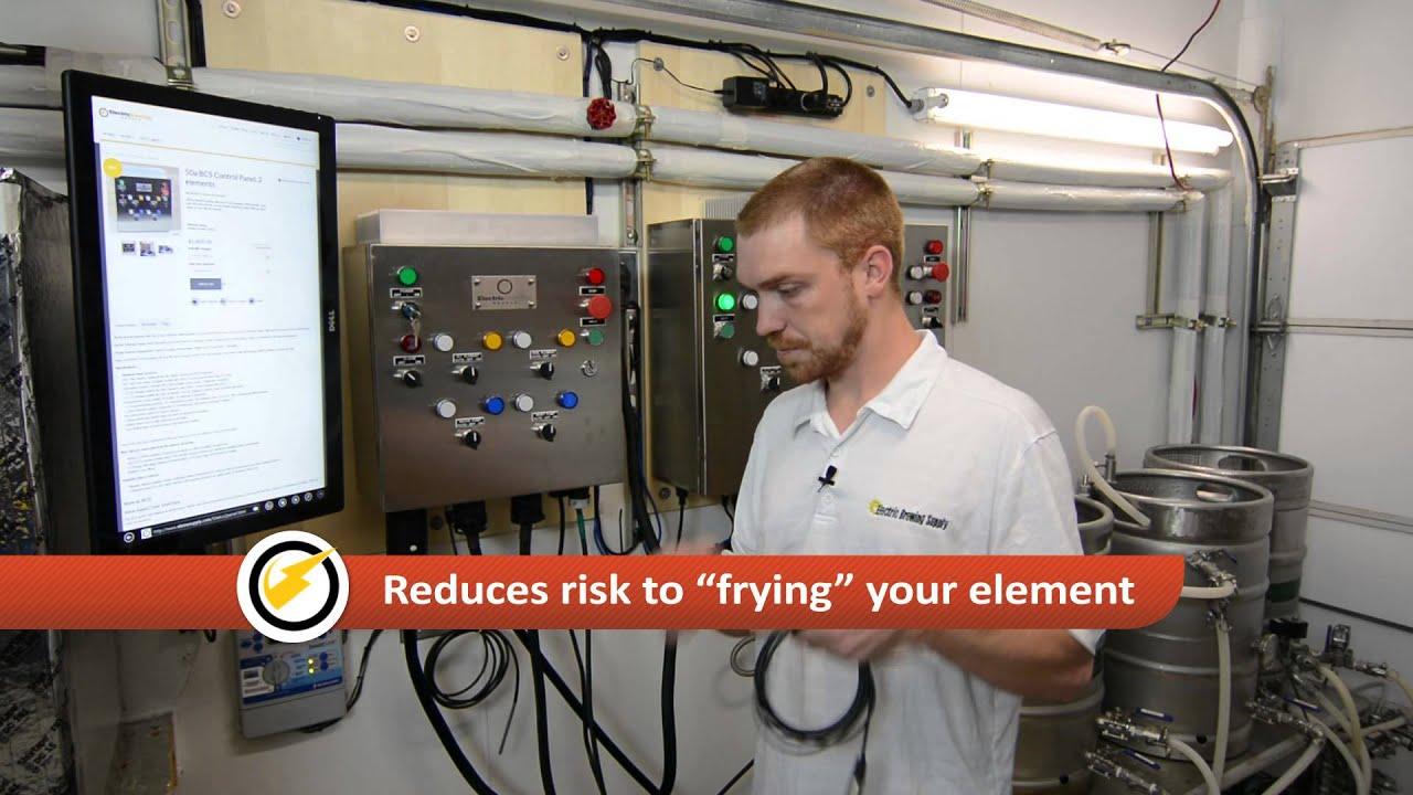 50 amp 2 element BCS control Panel - YouTube | Bcs 460 Wiring Diagram |  | YouTube