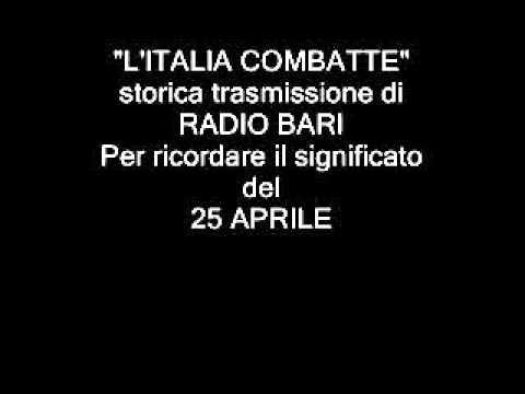 www.barinedita.it. «Qui Radio Bari»: i messaggi in codice inviati ai partigiani