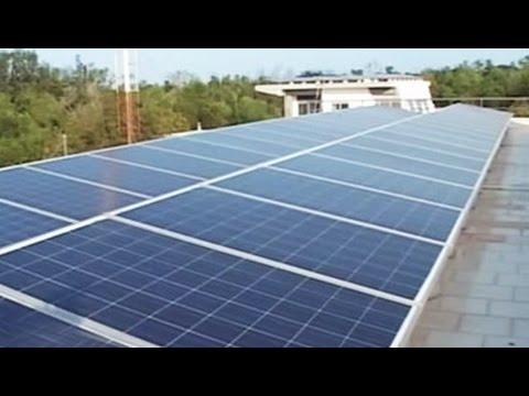 Mandatory solar panels for buildings in Tamil Nadu