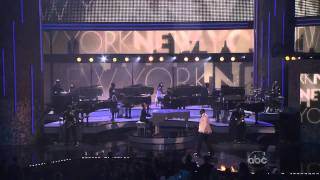 Alicia Keys Jay Z Empire State Of Mind American Music Awards 2009 Mpg