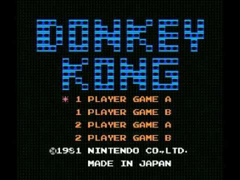 Donkey Kong (NES) Music - Game Start 1