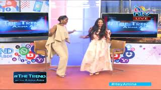 zari dancing ODI on The Trend