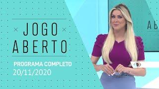 [AO VIVO] JOGO ABERTO - 20/11/2020