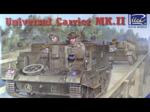 Universal Carrier Mark II By Riich Models Kit Review